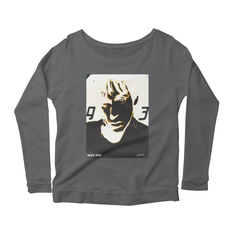 IGGY '93 20200 Women's Longsleeve T-Shirt by James DeWeaver - Artist - Official Merchandise
