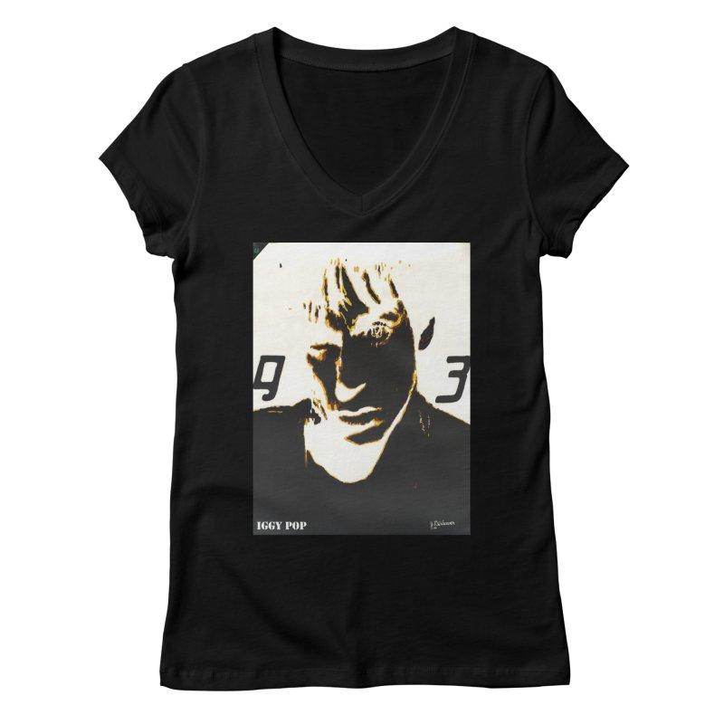 IGGY '93 20200 Women's V-Neck by James DeWeaver - Artist - Official Merchandise