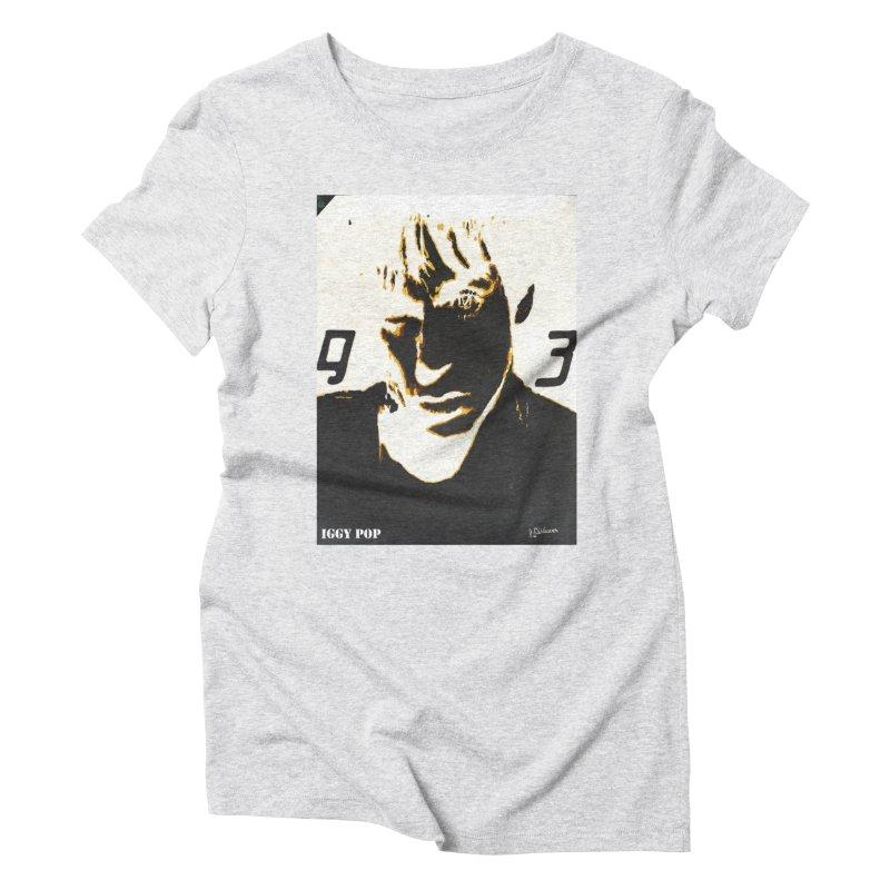 IGGY '93 20200 Women's T-Shirt by James DeWeaver - Artist - Official Merchandise