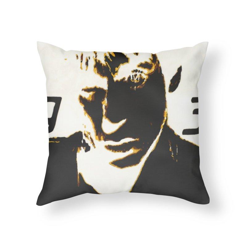 IGGY '93 20200 Home Throw Pillow by James DeWeaver - Artist - Official Merchandise