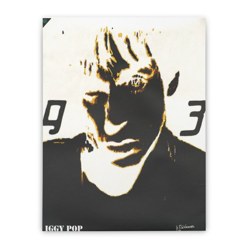 IGGY '93 20200 Home Stretched Canvas by James DeWeaver - Artist - Official Merchandise