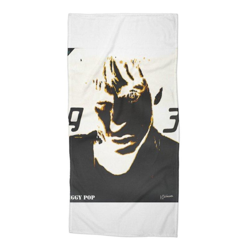 IGGY '93 20200 Accessories Beach Towel by James DeWeaver - Artist - Official Merchandise