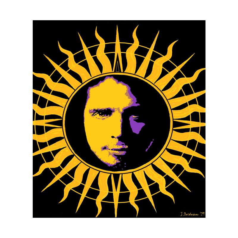 "Chris Cornell ""Shadow on the Sun"" 2021 Women's Longsleeve T-Shirt by James DeWeaver - Artist - Official Merchandise"