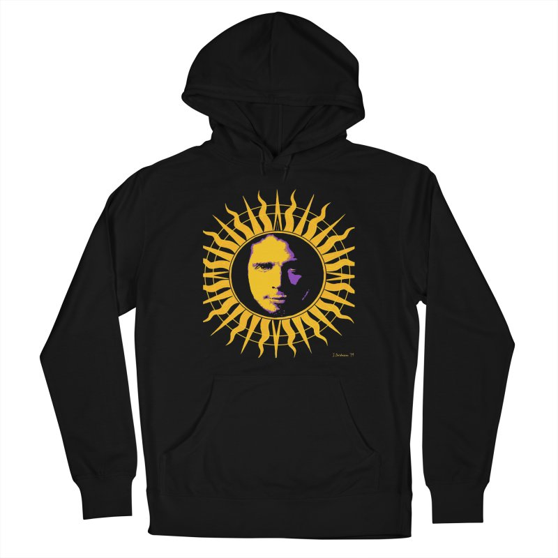 """Chris Cornell """"Shadow on the Sun"""" 2021 Men's Pullover Hoody by James DeWeaver - Artist - Official Merchandise"""