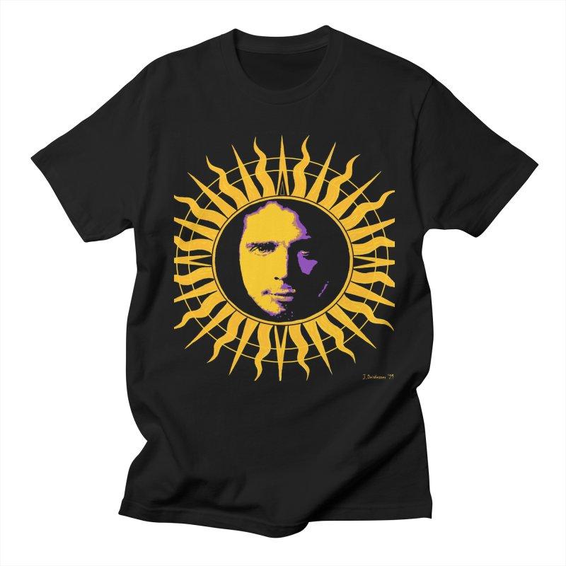 "Chris Cornell ""Shadow on the Sun"" 2021 Men's T-Shirt by James DeWeaver - Artist - Official Merchandise"