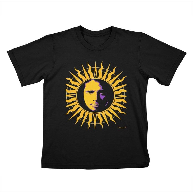 "Chris Cornell ""Shadow on the Sun"" 2021 Kids T-Shirt by James DeWeaver - Artist - Official Merchandise"