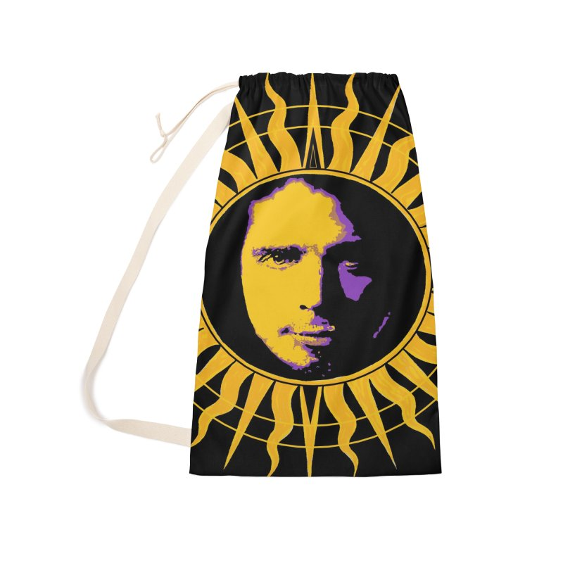 """Chris Cornell """"Shadow on the Sun"""" 2021 Accessories Bag by James DeWeaver - Artist - Official Merchandise"""