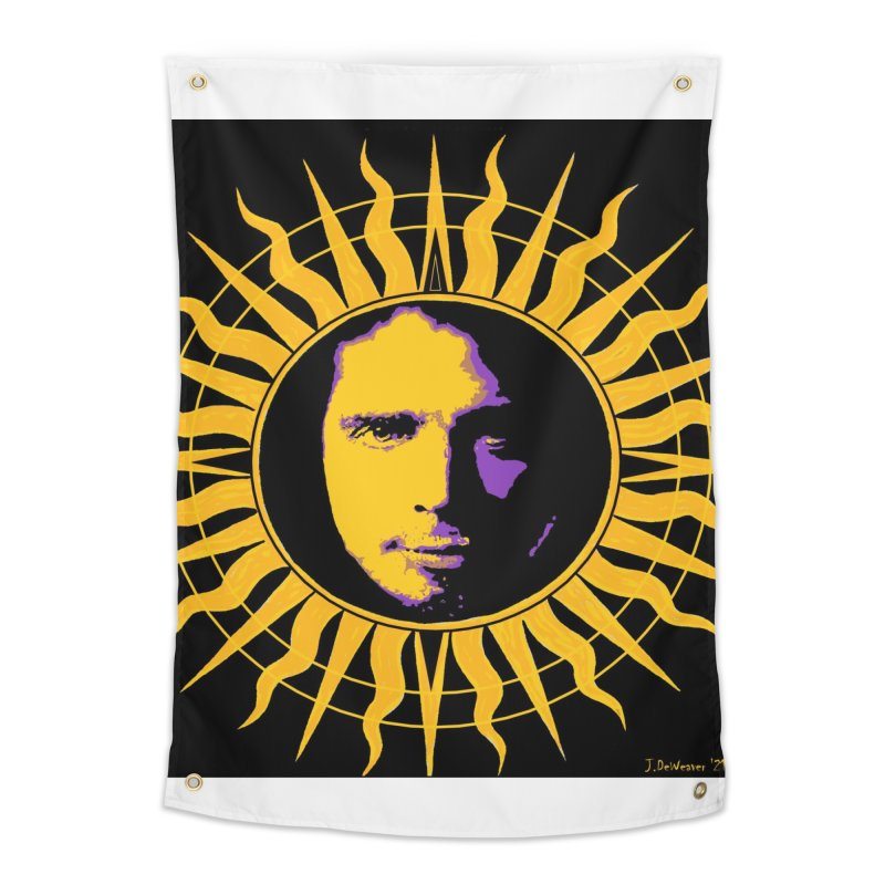 """Chris Cornell """"Shadow on the Sun"""" 2021 Home Tapestry by James DeWeaver - Artist - Official Merchandise"""