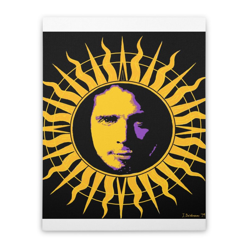 """Chris Cornell """"Shadow on the Sun"""" 2021 Home Stretched Canvas by James DeWeaver - Artist - Official Merchandise"""