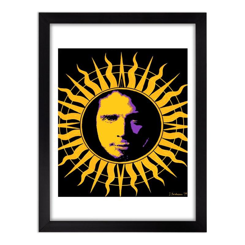 "Chris Cornell ""Shadow on the Sun"" 2021 Home Framed Fine Art Print by James DeWeaver - Artist - Official Merchandise"