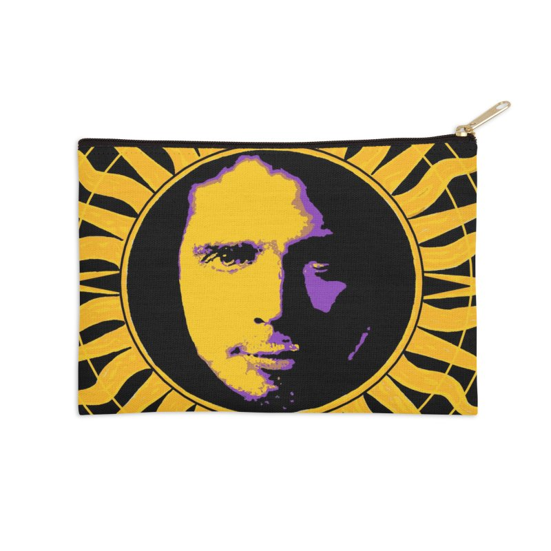 """Chris Cornell """"Shadow on the Sun"""" 2021 Accessories Zip Pouch by James DeWeaver - Artist - Official Merchandise"""
