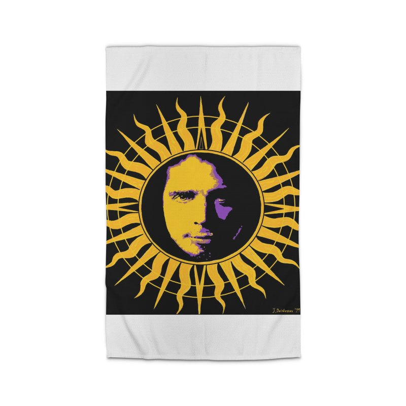 """Chris Cornell """"Shadow on the Sun"""" 2021 Home Rug by James DeWeaver - Artist - Official Merchandise"""