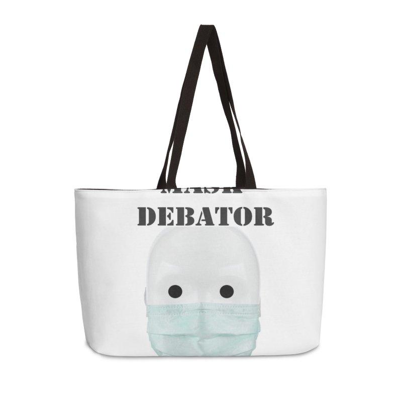 Chronic Mask Debator (NPC) #OperationJabGates 2021 Accessories Bag by James DeWeaver - Artist - Official Merchandise