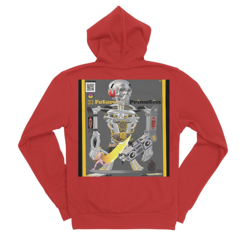 Future Primative 2021 by James DeWeaver Men's Zip-Up Hoody by James DeWeaver - Artist - Official Merchandise