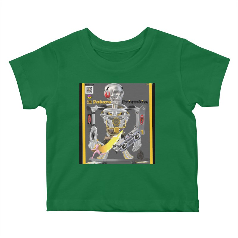 Future Primative 2021 by James DeWeaver Kids Baby T-Shirt by James DeWeaver - Artist - Official Merchandise