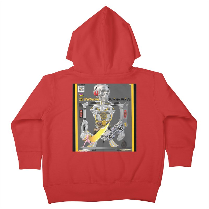 Future Primative 2021 by James DeWeaver Kids Toddler Zip-Up Hoody by James DeWeaver - Artist - Official Merchandise