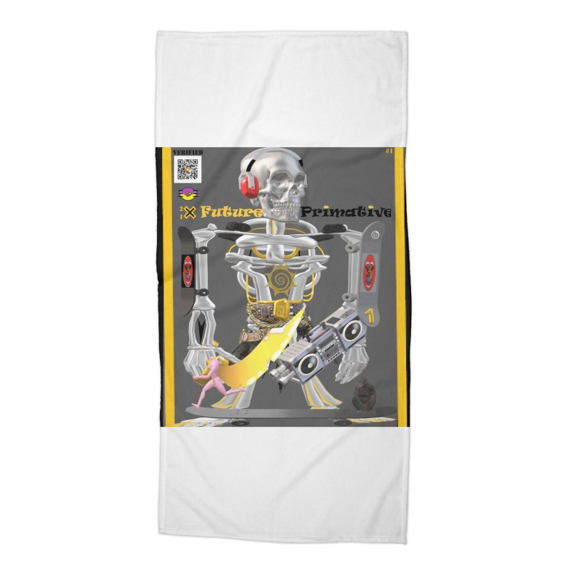 Future Primative 2021 by James DeWeaver Accessories Beach Towel by James DeWeaver - Artist - Official Merchandise