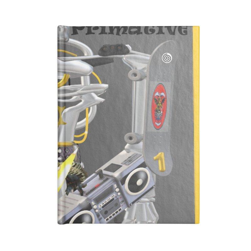 Future Primative 2021 by James DeWeaver Accessories Notebook by James DeWeaver - Artist - Official Merchandise