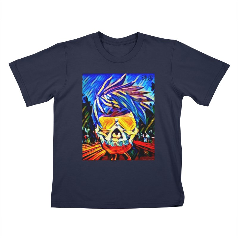 Speed 2021 by James DeWeaver Kids T-Shirt by James DeWeaver - Artist - Official Merchandise