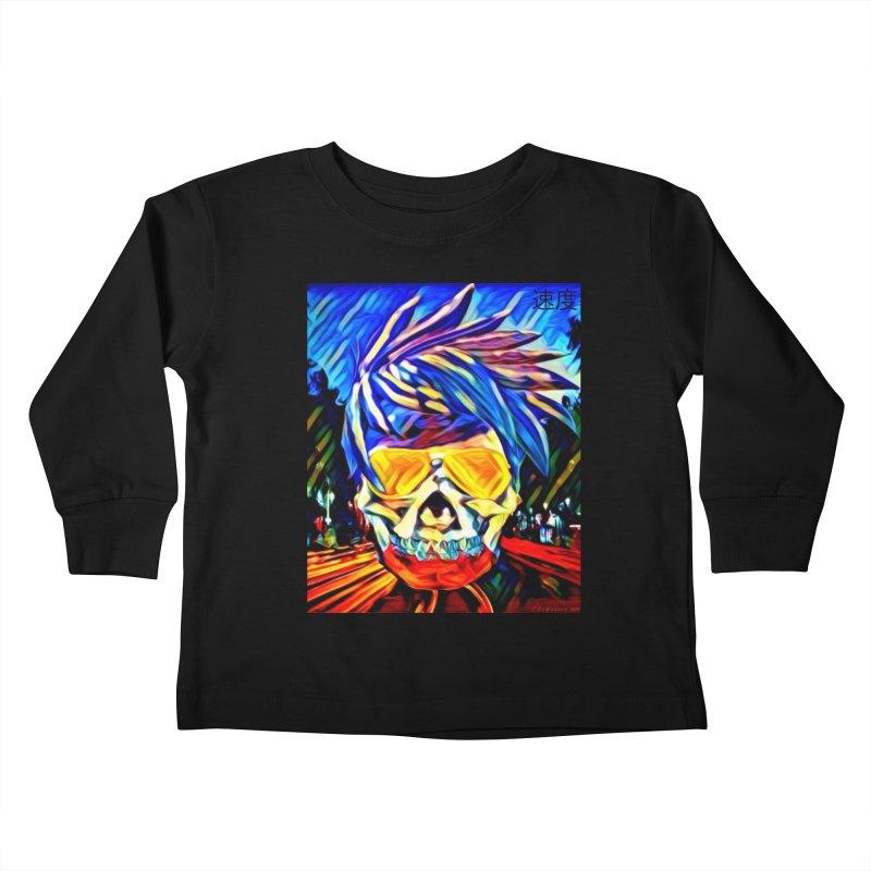 Speed 2021 by James DeWeaver Kids Toddler Longsleeve T-Shirt by James DeWeaver - Artist - Official Merchandise