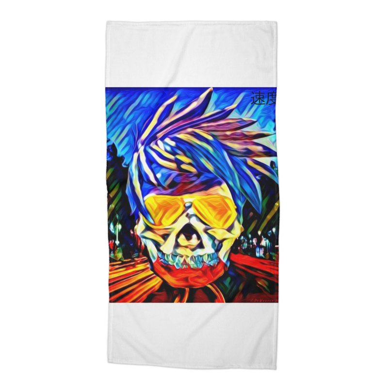 Speed 2021 by James DeWeaver Accessories Beach Towel by James DeWeaver - Artist - Official Merchandise