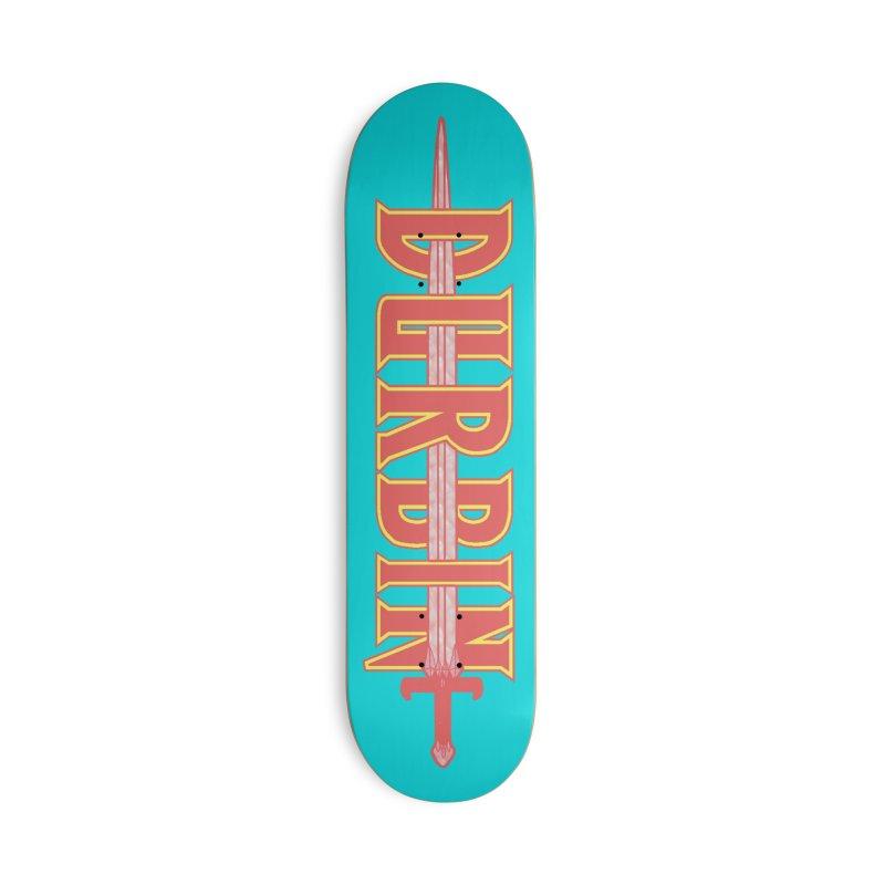 DURBIN Accessories Skateboard by James Durbin's Artist Shop