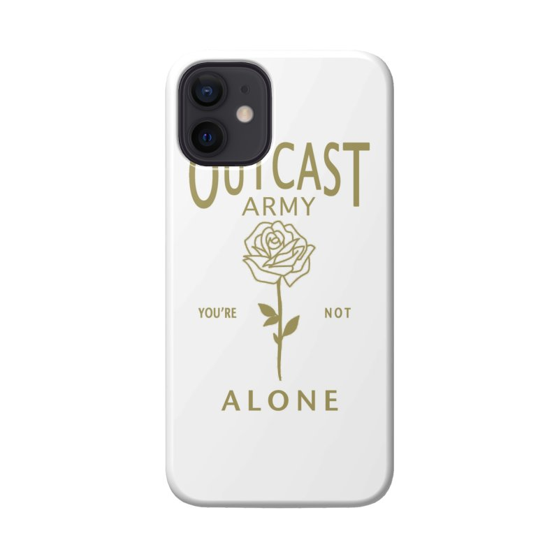 """OUTCAST ARMY """"You're Not Alone"""" Accessories Phone Case by James Durbin's Artist Shop"""