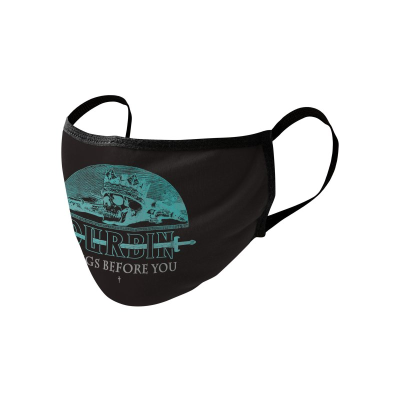 DURBIN - KINGS BEFORE YOU Accessories Face Mask by James Durbin's Artist Shop