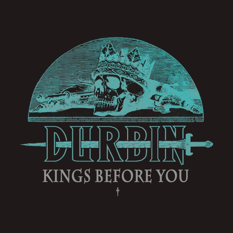 DURBIN - KINGS BEFORE YOU Men's V-Neck by James Durbin's Artist Shop