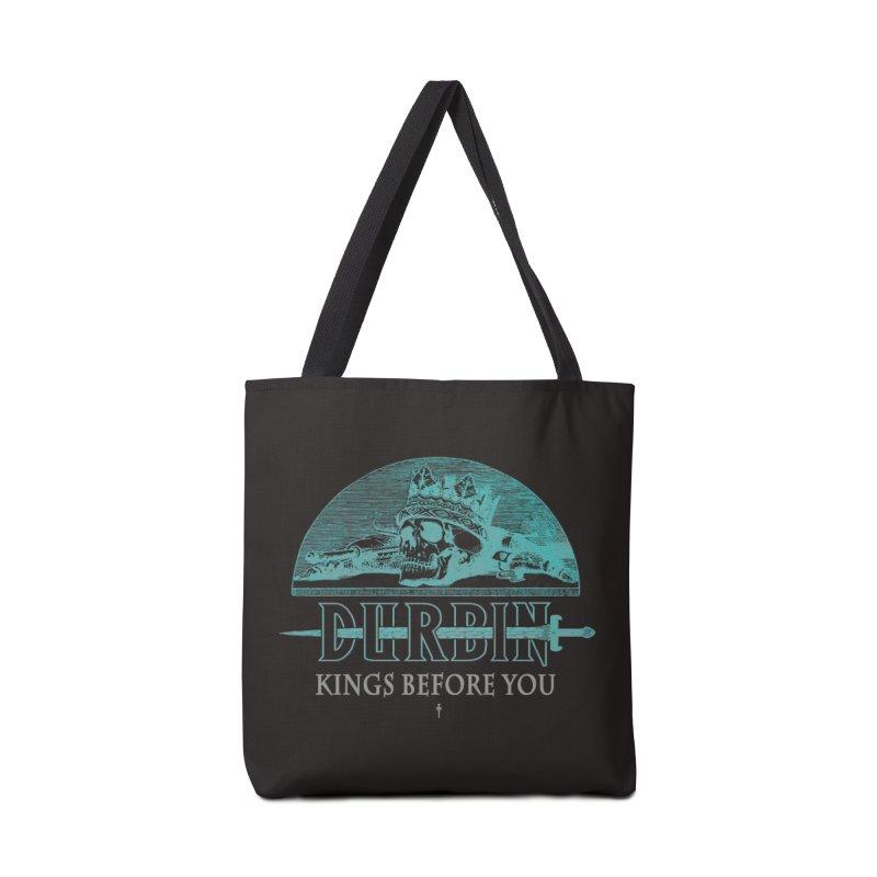 DURBIN - KINGS BEFORE YOU Accessories Bag by James Durbin's Artist Shop