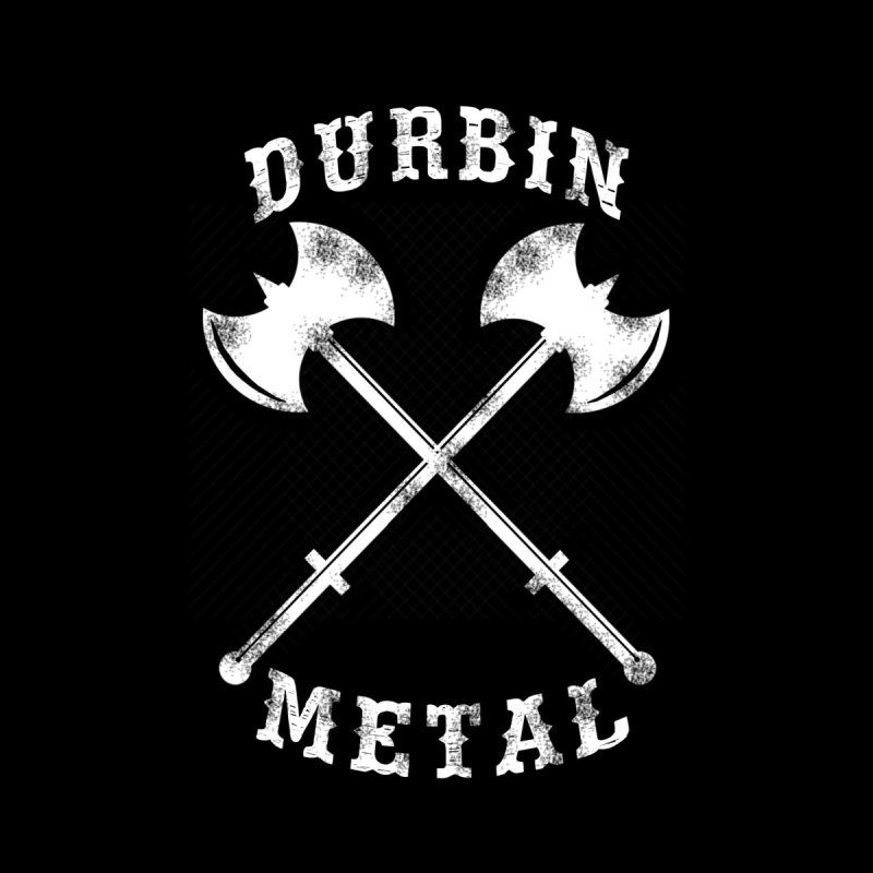DURBIN METAL (Black & White) Men's T-Shirt by James Durbin's Artist Shop