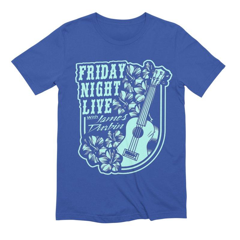 FRIDAY NIGHT LIVE - UKULELE NIGHT Men's T-Shirt by James Durbin's Artist Shop
