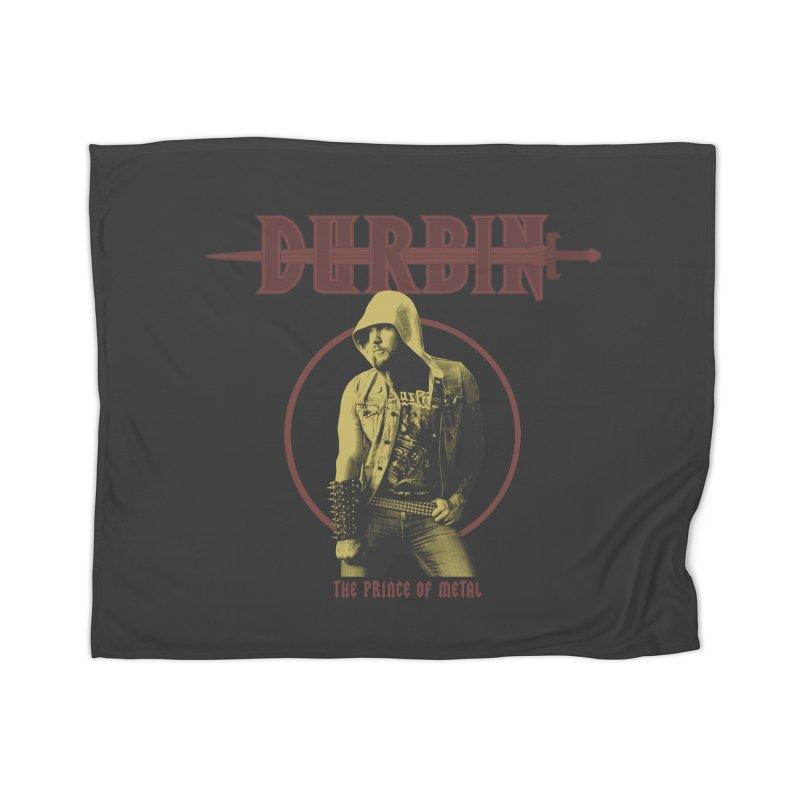 DURBIN - The Prince Of Metal Home Blanket by James Durbin's Artist Shop
