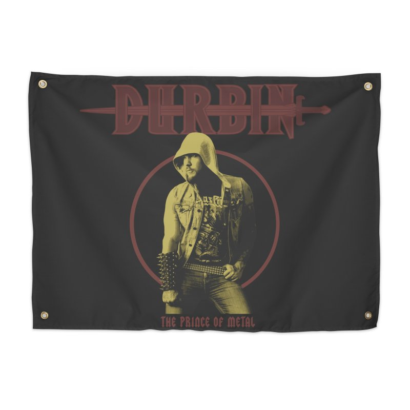 DURBIN - The Prince Of Metal Home Tapestry by James Durbin's Artist Shop
