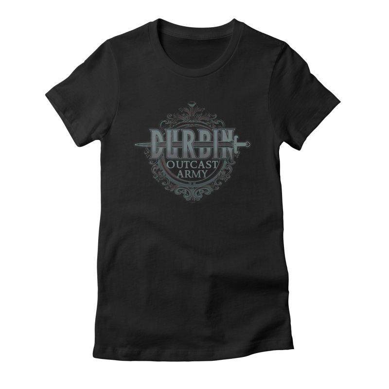 DURBIN: Outcast Army Women's T-Shirt by James Durbin's Artist Shop