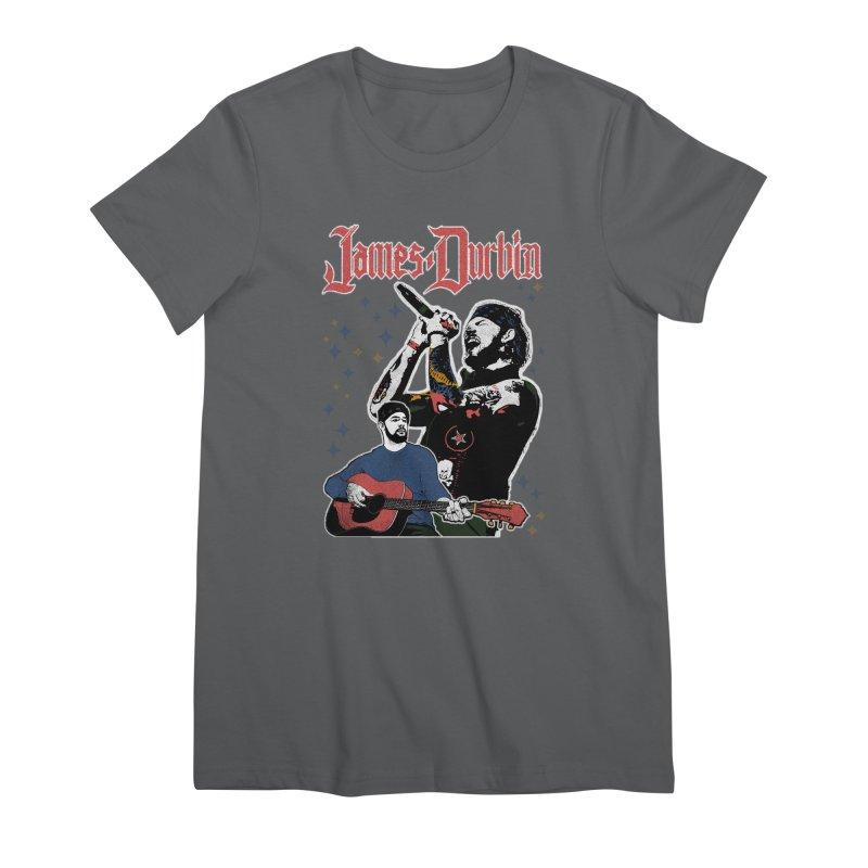 James Durbin Bootleg Women's T-Shirt by James Durbin's Artist Shop