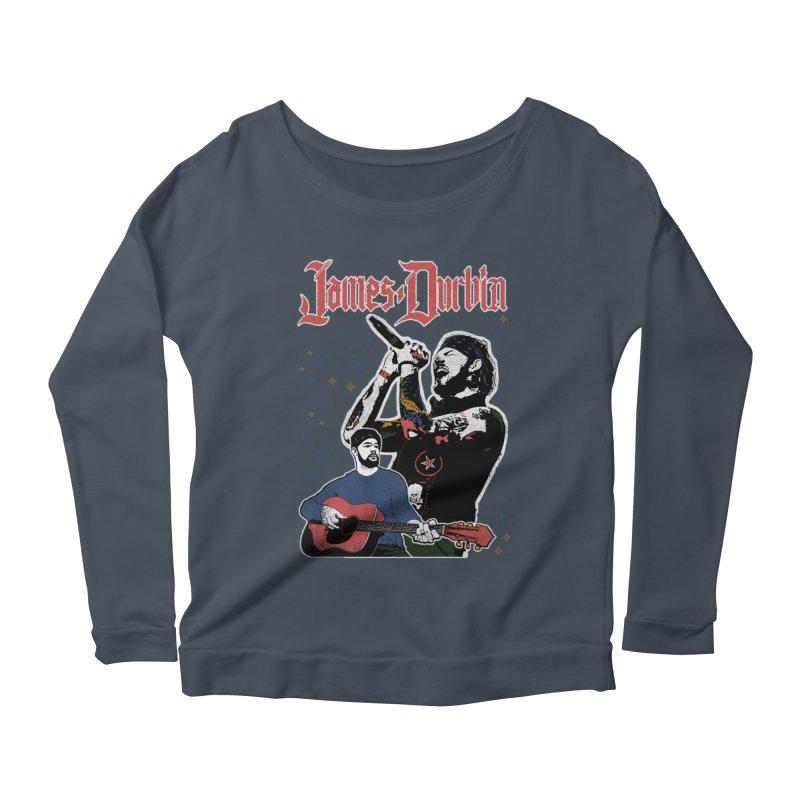 James Durbin Bootleg Women's Longsleeve T-Shirt by James Durbin's Artist Shop