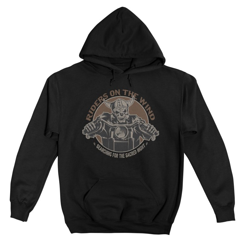 RIDERS ON THE WIND Women's Pullover Hoody by James Durbin's Artist Shop
