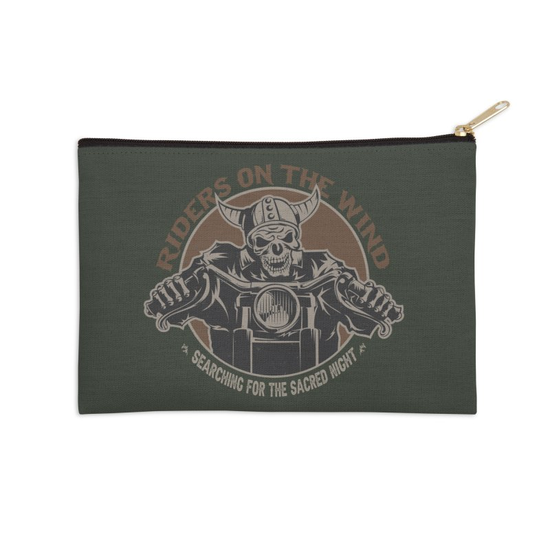 RIDERS ON THE WIND Accessories Zip Pouch by James Durbin's Artist Shop