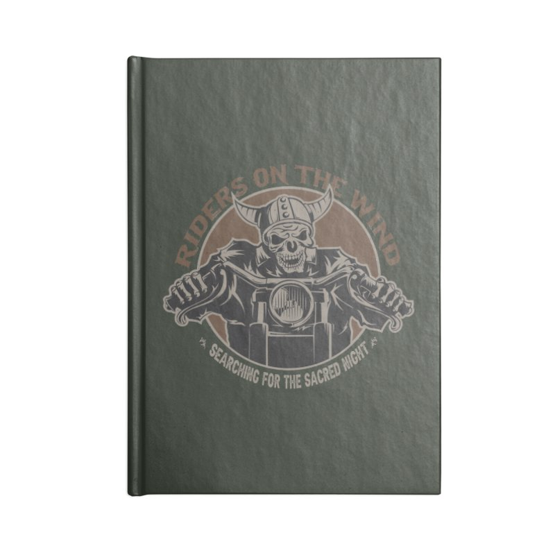 RIDERS ON THE WIND Accessories Notebook by James Durbin's Artist Shop