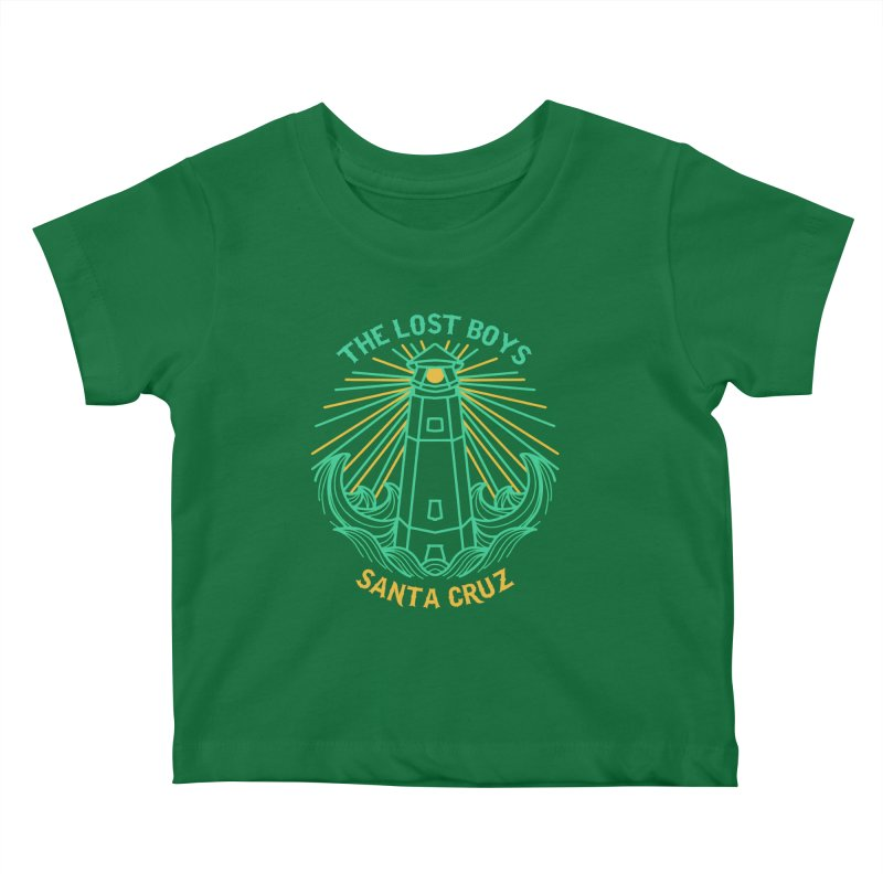 """""""THE LOST BOYS"""" LIGHTHOUSE Kids Baby T-Shirt by James Durbin's Artist Shop"""