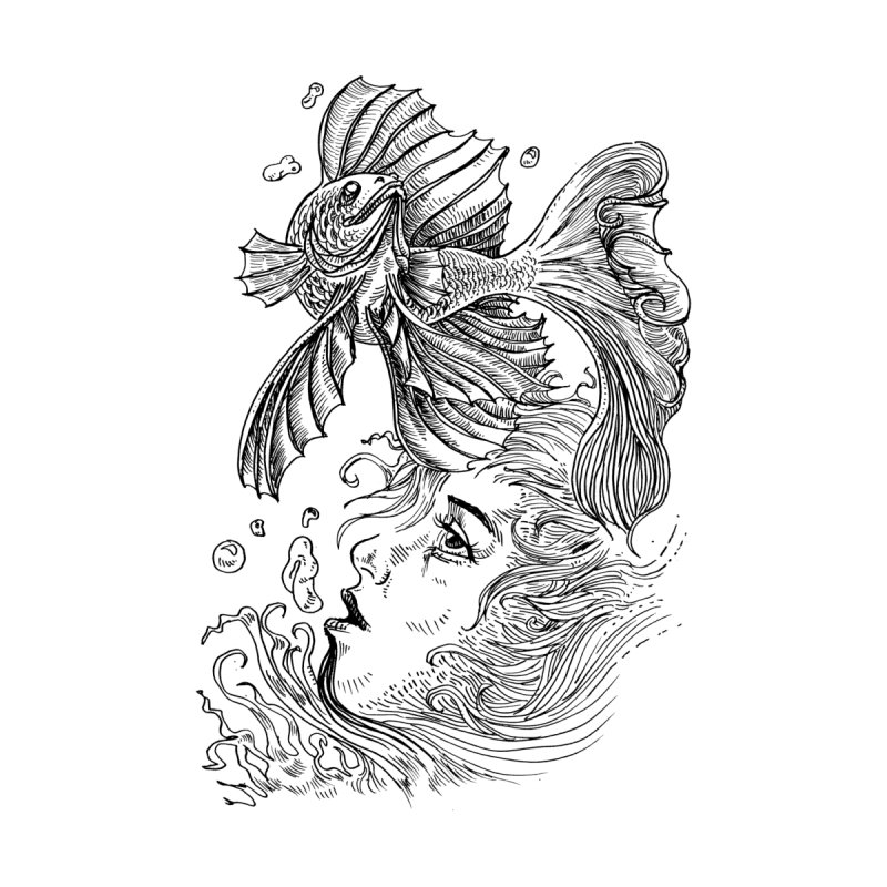 Water Dream by James Leong on Threadless