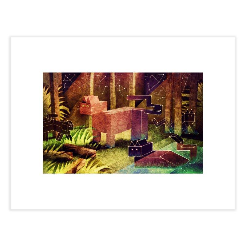 Constellation Cats Home Fine Art Print by jamesshedden's Artist Shop