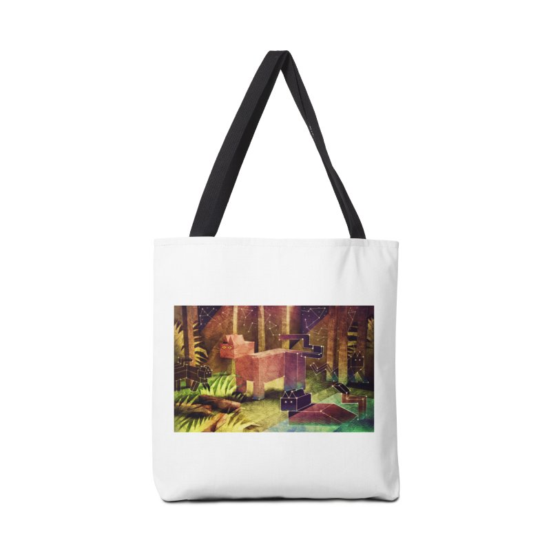 Constellation Cats Accessories Tote Bag Bag by jamesshedden's Artist Shop