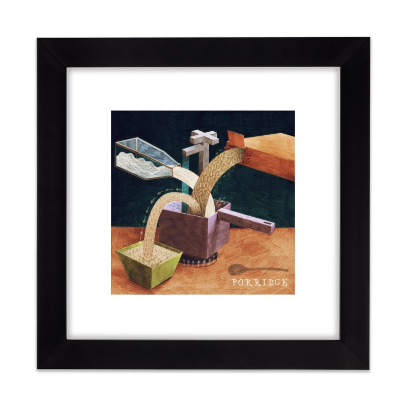Porridge Home Framed Fine Art Print by jamesshedden's Artist Shop