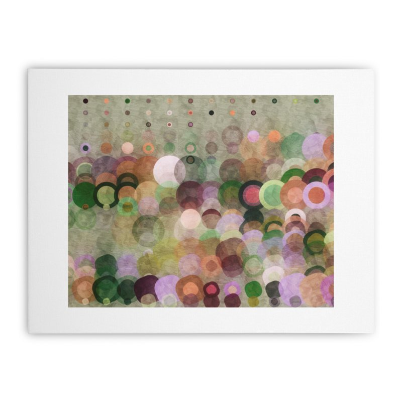 Dots Bot — 8 Home Stretched Canvas by jamesshedden's Artist Shop