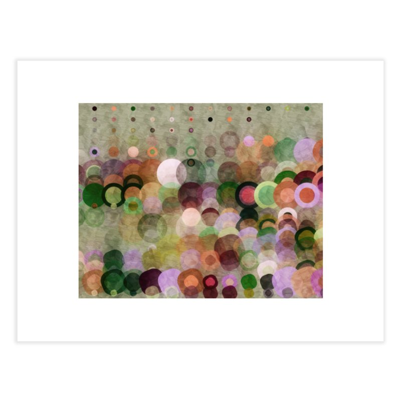 Dots Bot — 8 Home Fine Art Print by jamesshedden's Artist Shop