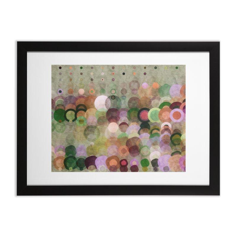 Dots Bot — 8 Home Framed Fine Art Print by jamesshedden's Artist Shop