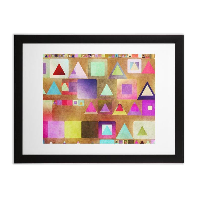 Dots Bot — 4 Home Framed Fine Art Print by jamesshedden's Artist Shop