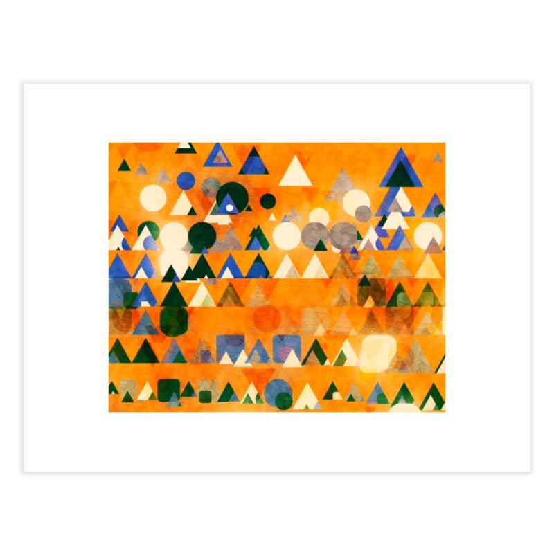 Dots Bot — 3 Home Fine Art Print by jamesshedden's Artist Shop